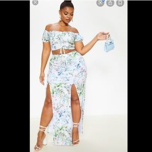 NWT Pretty Little Thing two-piece set